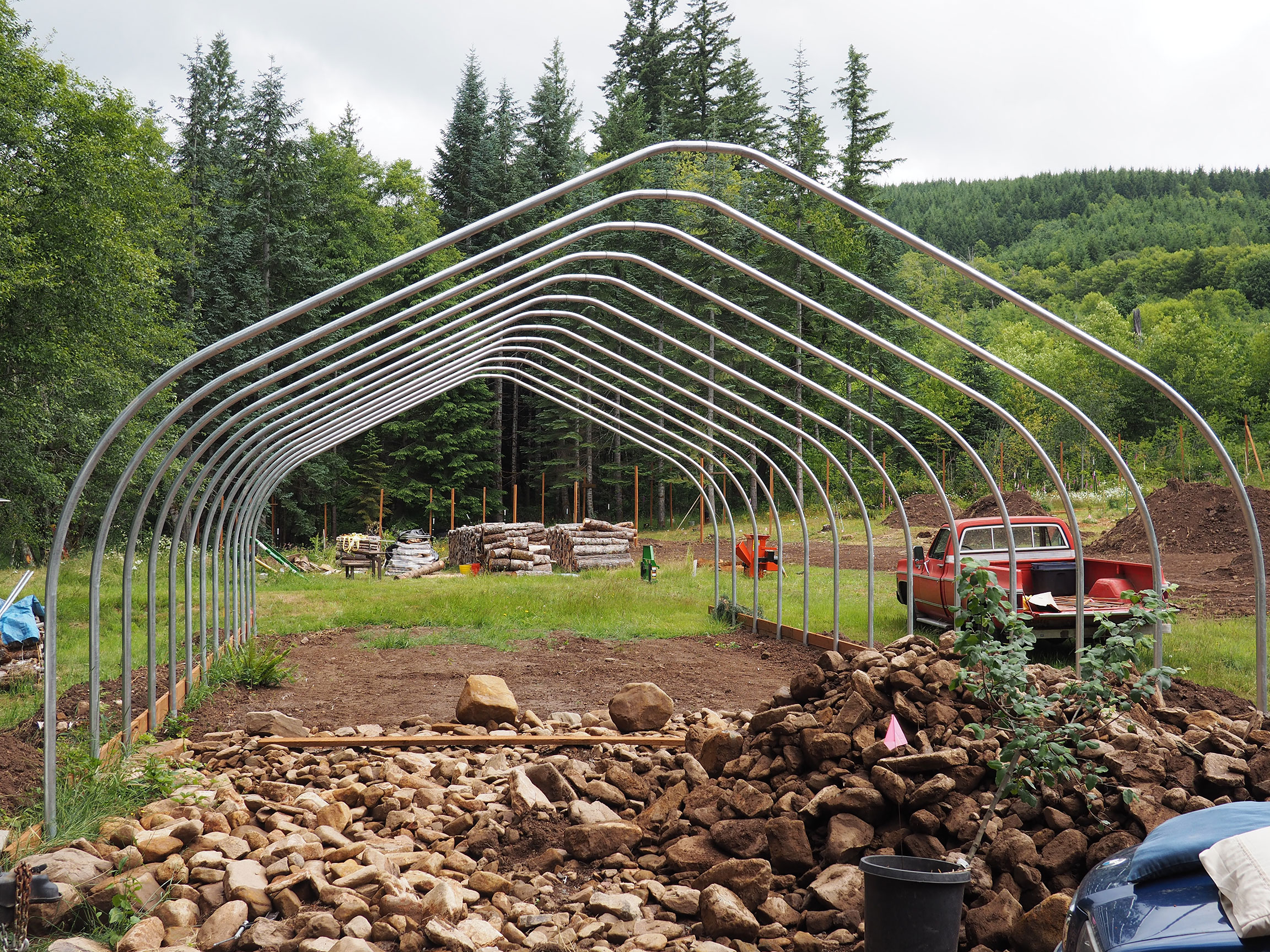 The Woods (aka Jackrabbit) Under Construction